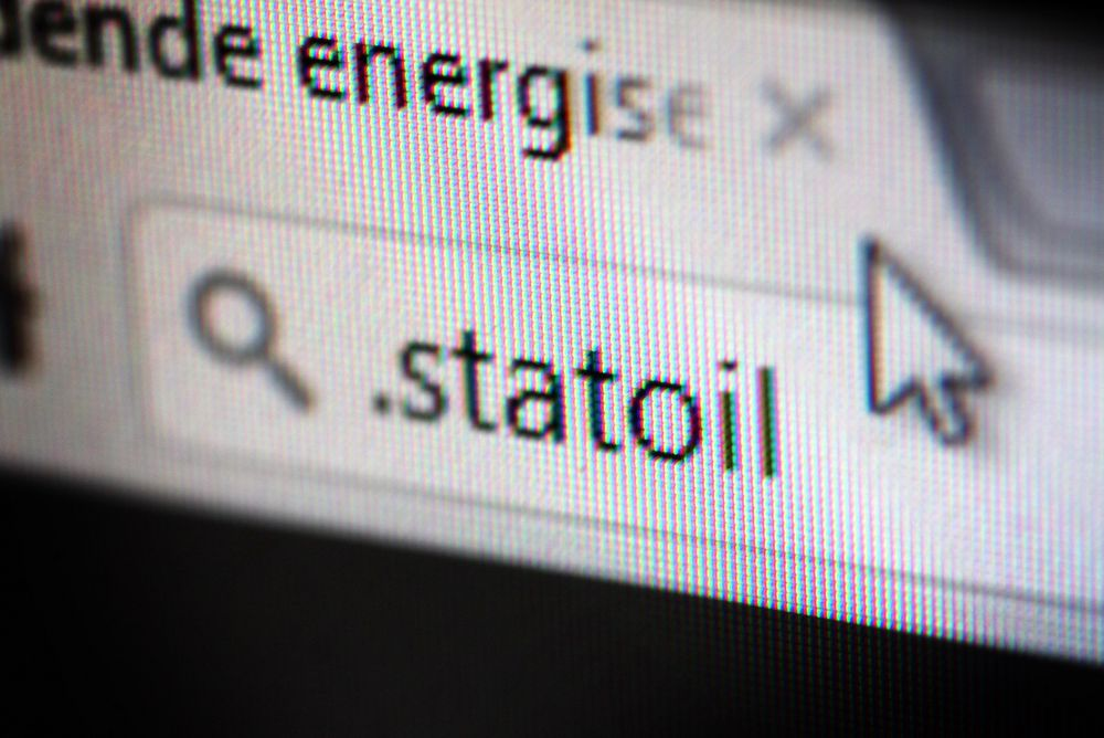 Statoil har søkt om å opprette toppnivådomenet .statoil.