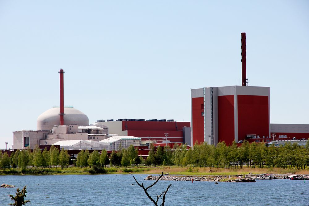 STOR EFFEKT: 1600 MW kjernekraft i Finland, som det den nye reaktoren i Olkiluoto vil levere til nettet, har stor påvirkning på norske strømpriser. (Foto: Tormod Haugstad)