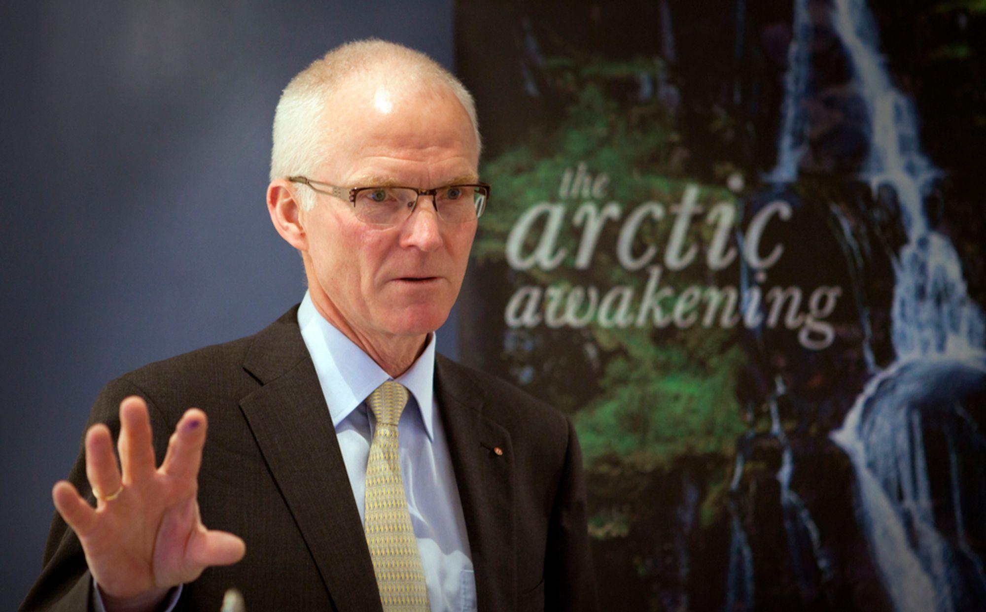 NY STYRELEDER: Avtroppende konsernsjef i Hurtigruten, Olav Fjell, er ny styreleder i Statkraft. (Foto: Scanpix)