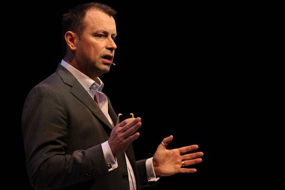 FUTURISTEN: Ciscos fremtidsforsker Dave Evans.
