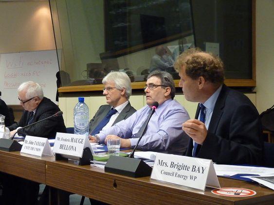 Fredric Hauge på EU-kommisjonsmøte om ny HMS-lov