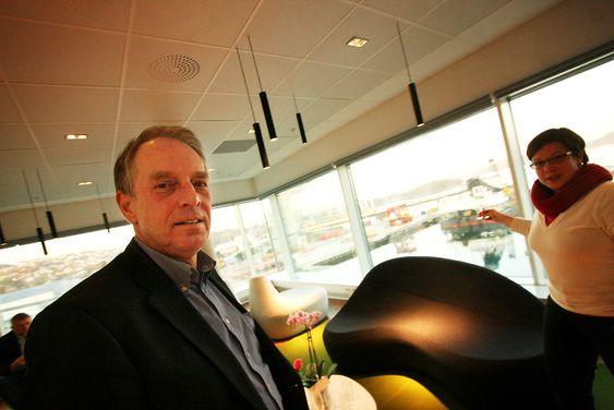 OPTIMISTISK: Bernd Schrimpf, administrerende direktør i Wintershall Norge, håper at Maria-funnet inneholder mer enn 100 millioner fat olje.