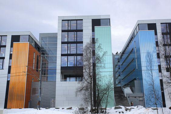 E18: Det nye kontoret til Aibel ligger ved E18 i Asker.