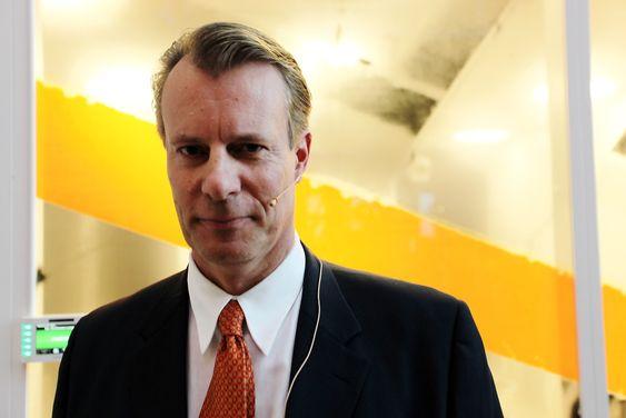 FERD-SJEF: Johan H. Andresen jr. mener at det nye Aibel-bygget er inspirerende.