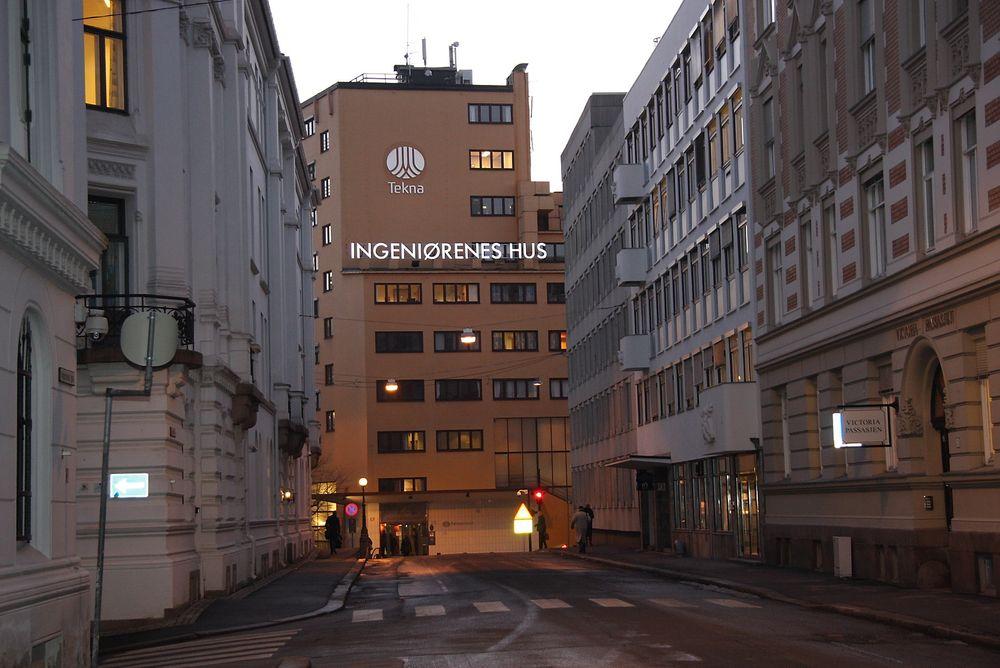 RO I REKKENE: Salget av halvparten av Ingeniørenes hus har skapt uro i Tekna Oslo Avdeling. Nå er roen gjenopprettet, styret har fått tillit og ingen protesterer lenger på salget.