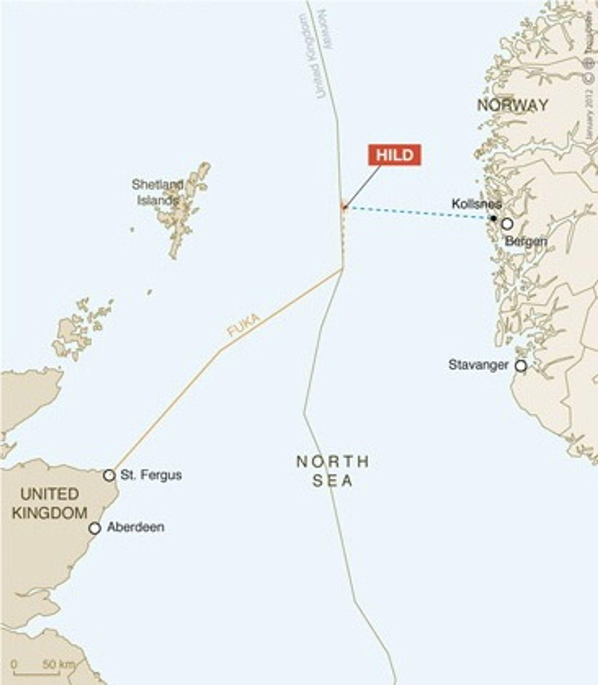 Hild Total Nordsjøen