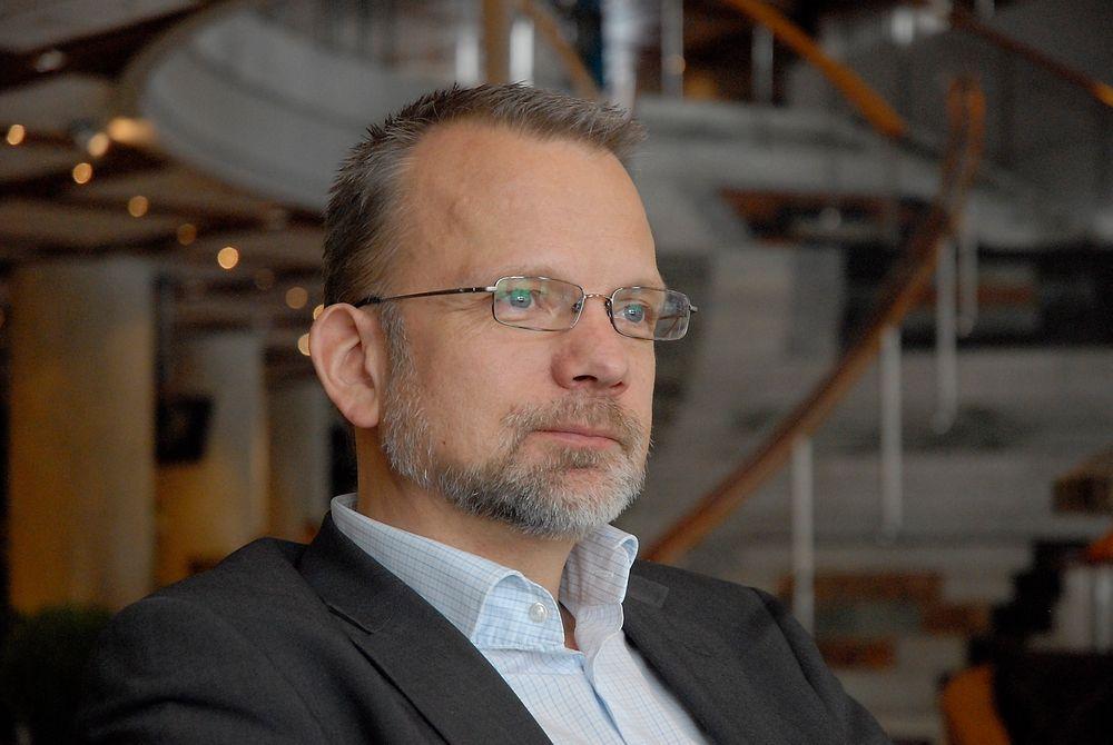 VIL HA SKATTEFRADRAG: Fornybarbransjen bør ha minst like gode skattemessige vilkår som oljebransjen, og i hvert fall ikke dårligere, mener Intpow-sjef Geir Elsebutangen.