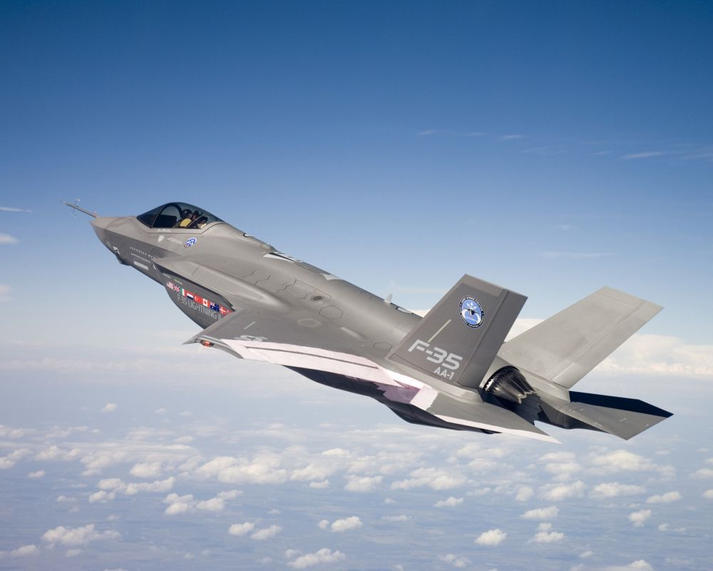 Joint Strike Fighter, JSF, F-35, Lockheed Martin.