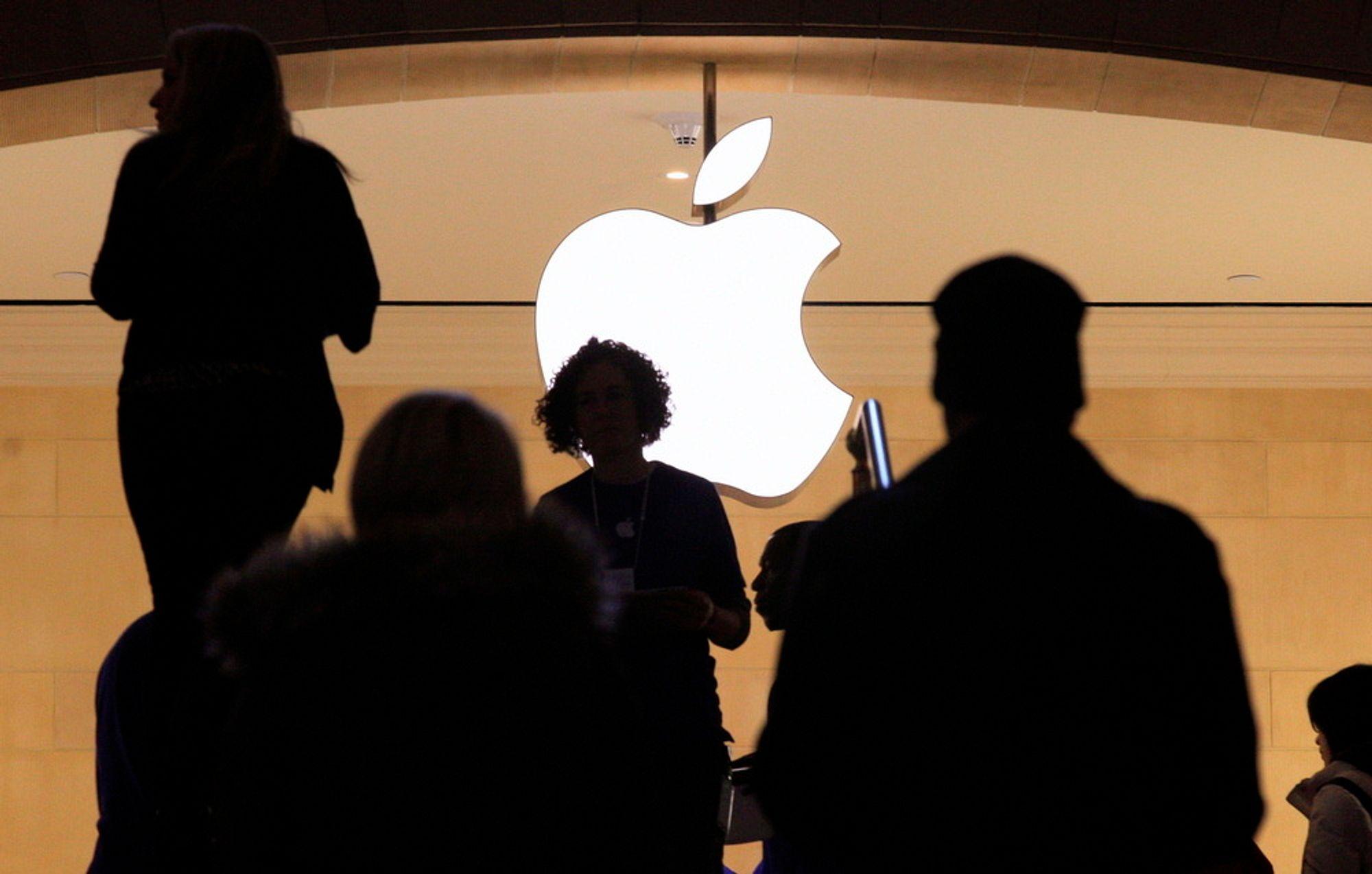 ETTERLYSER NY MODELL: Dersom bedrifter hadde tjent på å utvikle nye tjenester, ville vi fått nye og bedre tjenester for mobil, brett og nett, tror forskerne, som ikke liker Apples forretningsmodell.