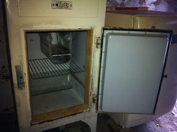 I FIN STAND: AEG-kjøleskapet holder seg godt.