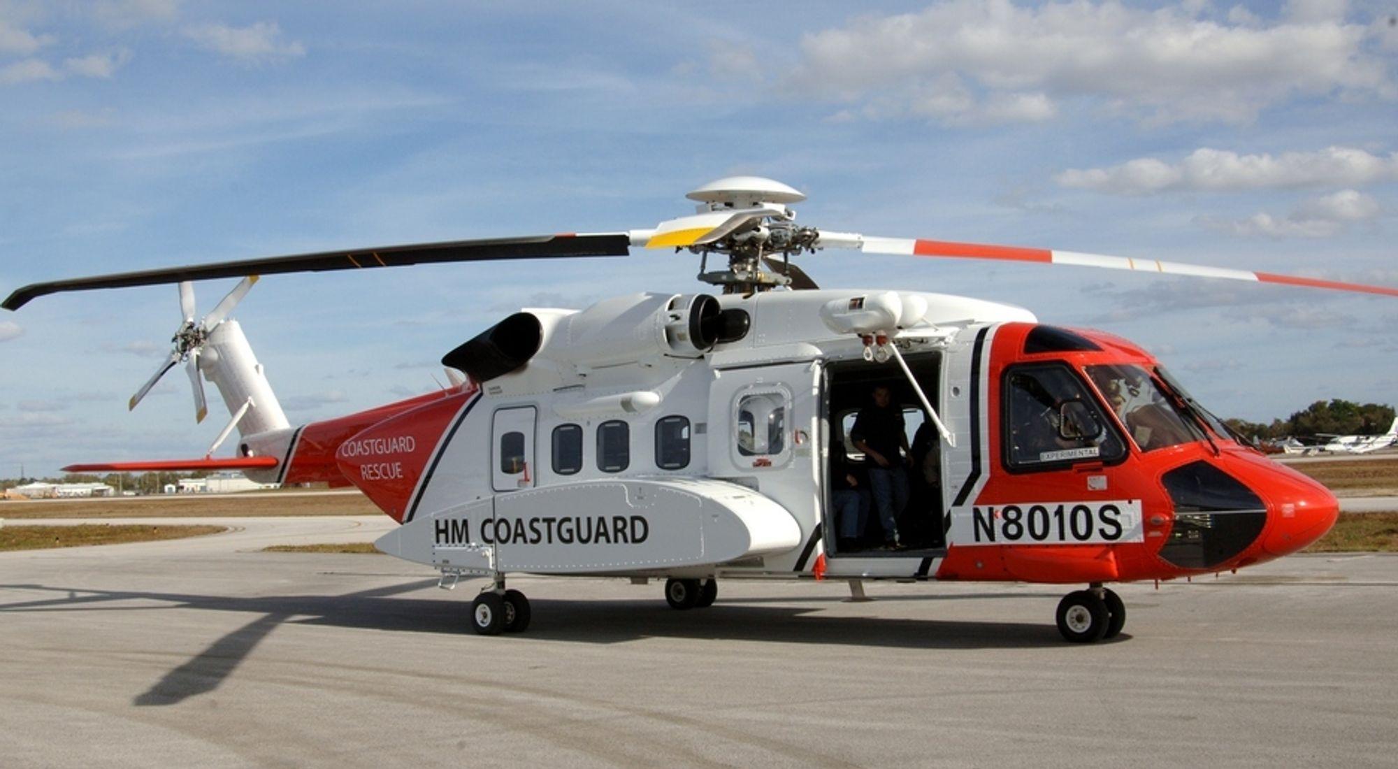 Leverandørene gleder seg til helikopterkamp
