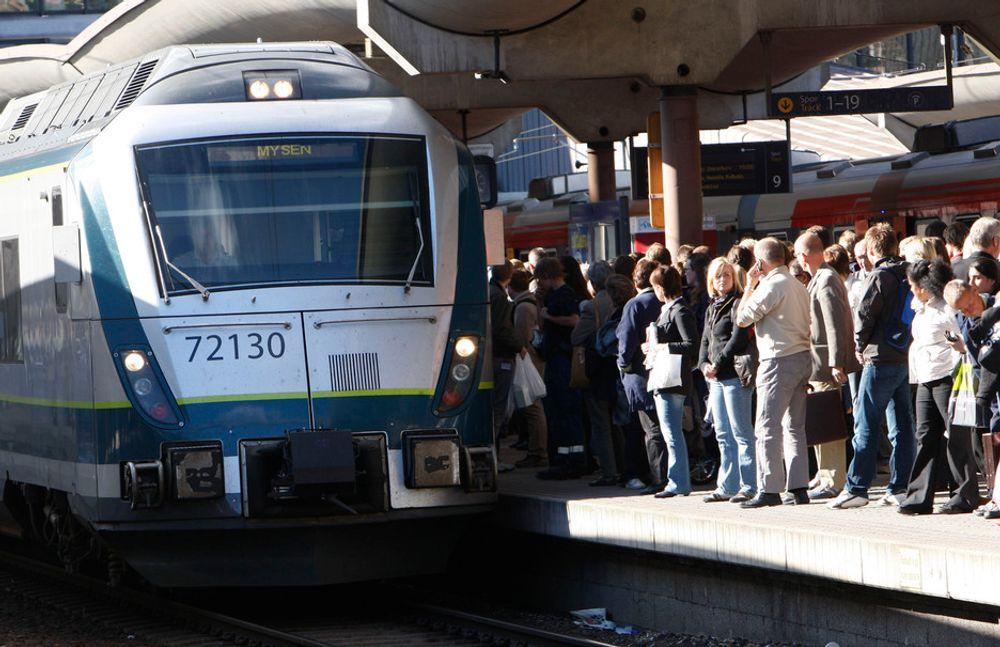 NEDGANG: Ni av ti turer gikk med NSB, ifølge Statistisk sentralbyrå (SSB), men antallet passasjerer var lavere enn året før.
