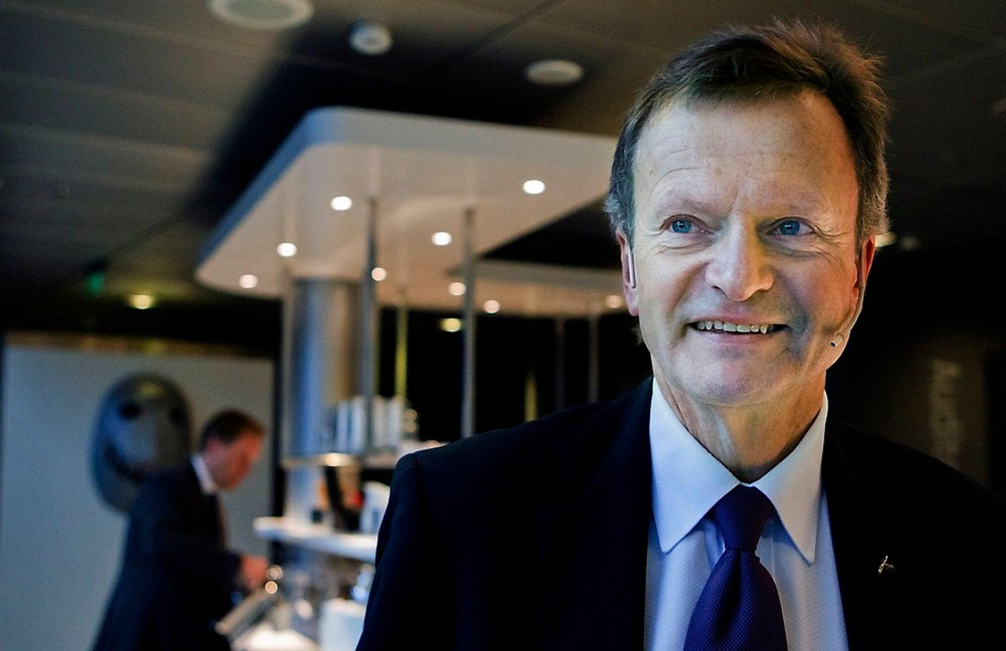 Konsernsjef Jon Fredrik Baksaas i Telenor kan notere seg for 29 millioner nye abonnenter i fjerde kvartal. 55000 av dem var i Norge.