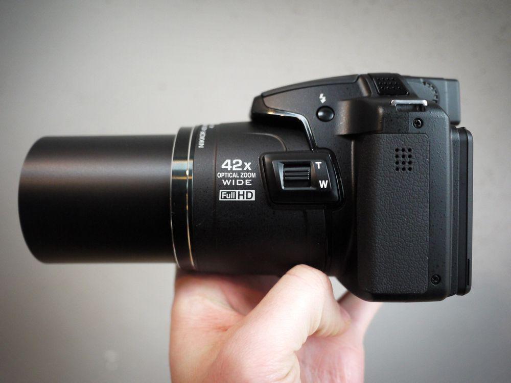 Konkurransen fra smartmobilene gjør at kameraprodusentene dytter mer og mer zoom inn i kameraene sine. Nikons nye P510 har hele 42 x optisk zoom.