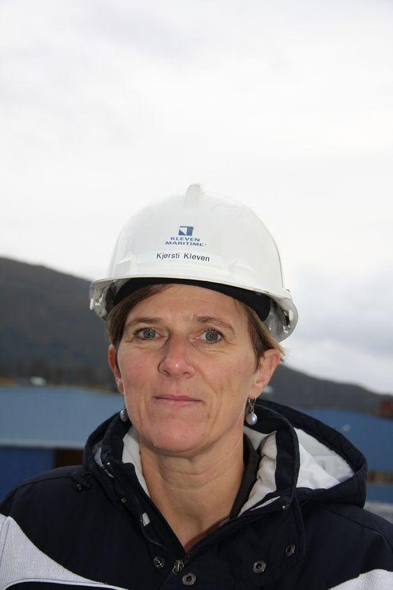 Styreleder Kjersti Kleven i Kleven Maritime AS, Ulsteinvik