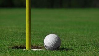 Kraftlinje truer golfbane