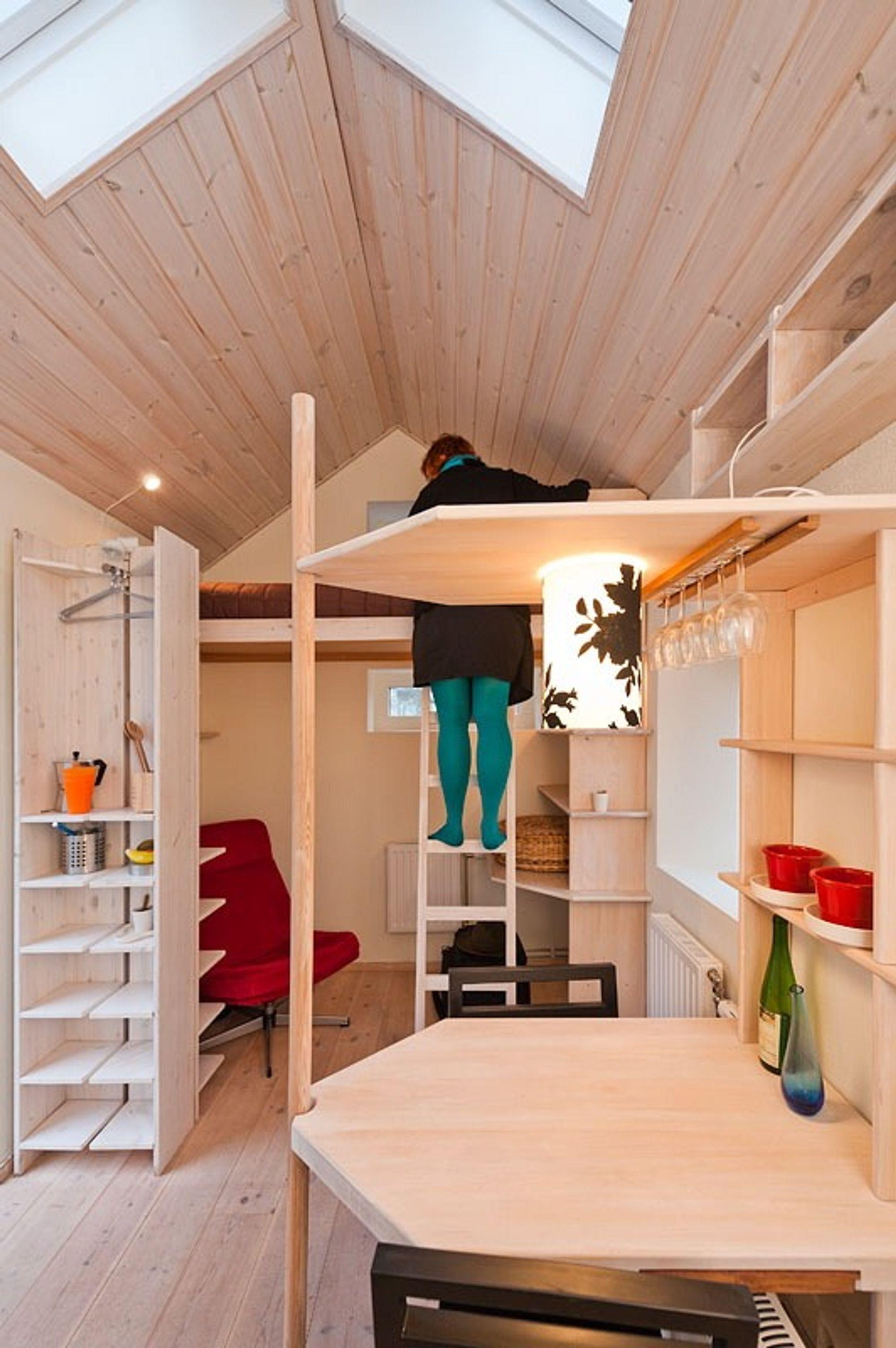 Bygget studentbolig på 8,8 m2   tu.no