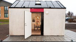 Bygget studentbolig på 8,8 m2