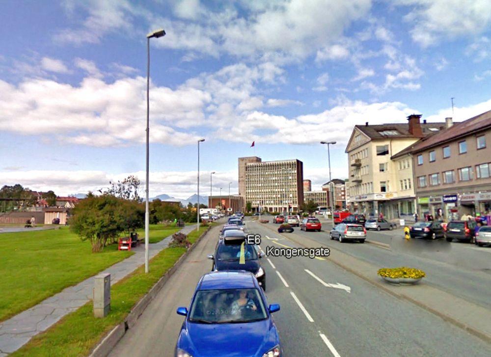 E 6 går tvers gjennom sentrum av Narvik. Denne gata har Mesta ansvaret for i inneværende periode, og får det trolig de neste seks årene også.