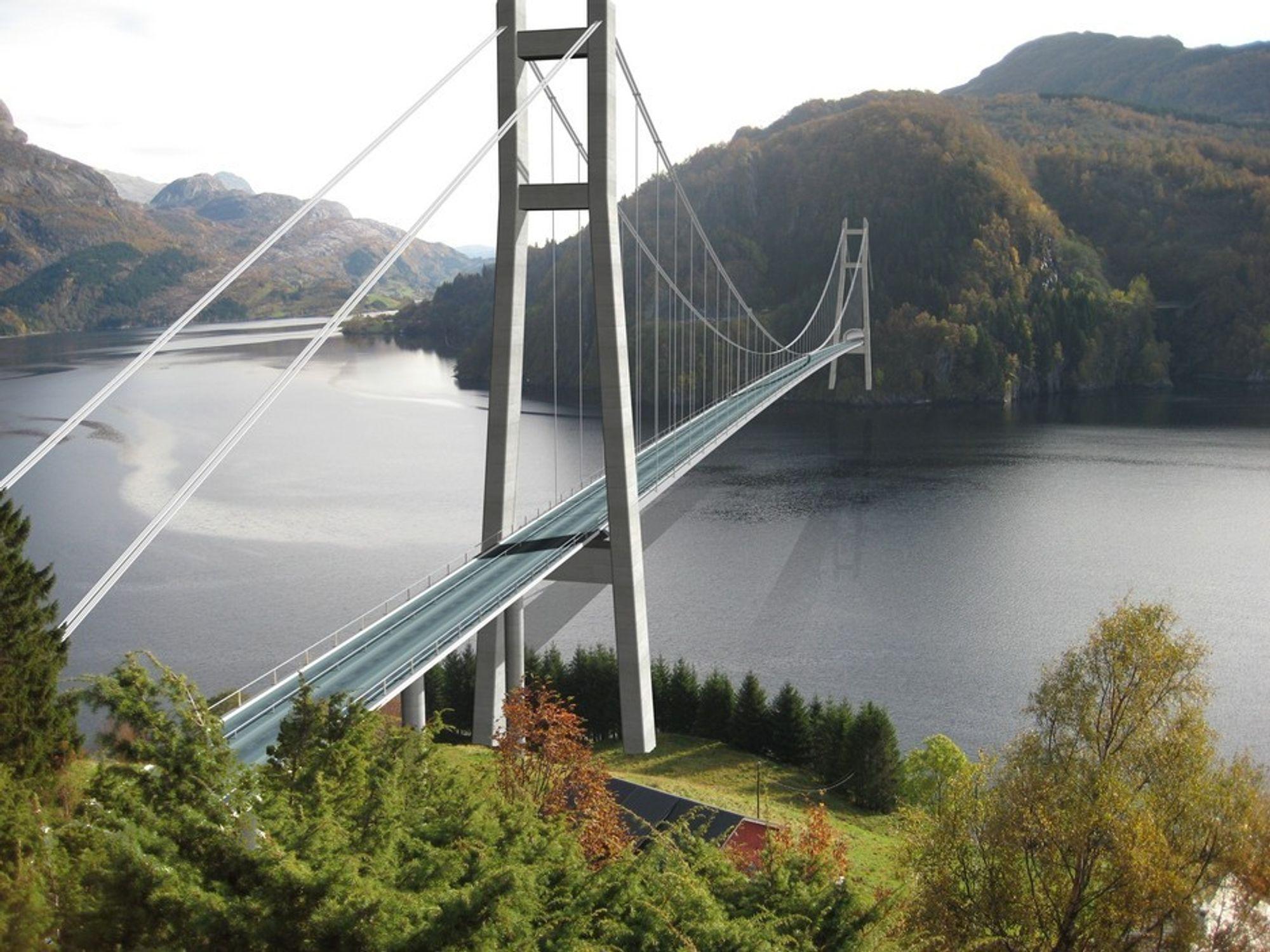 Jevn kamp om elektro på Dalsfjordsambandet