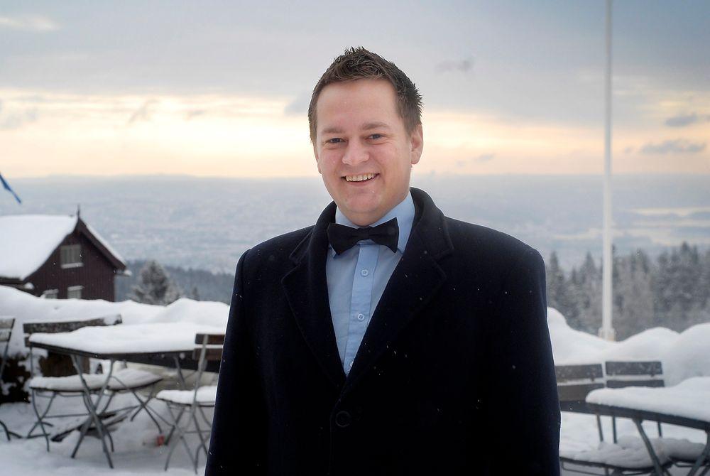 Politisk rådgiver Ivar Vigdenes (Sp) i Olje- og energidepartementet avviser kritikken fra miljøvernere og byggebransjen av regjeringens mål for energieffektivisering. FOTO: Øyvind Lie