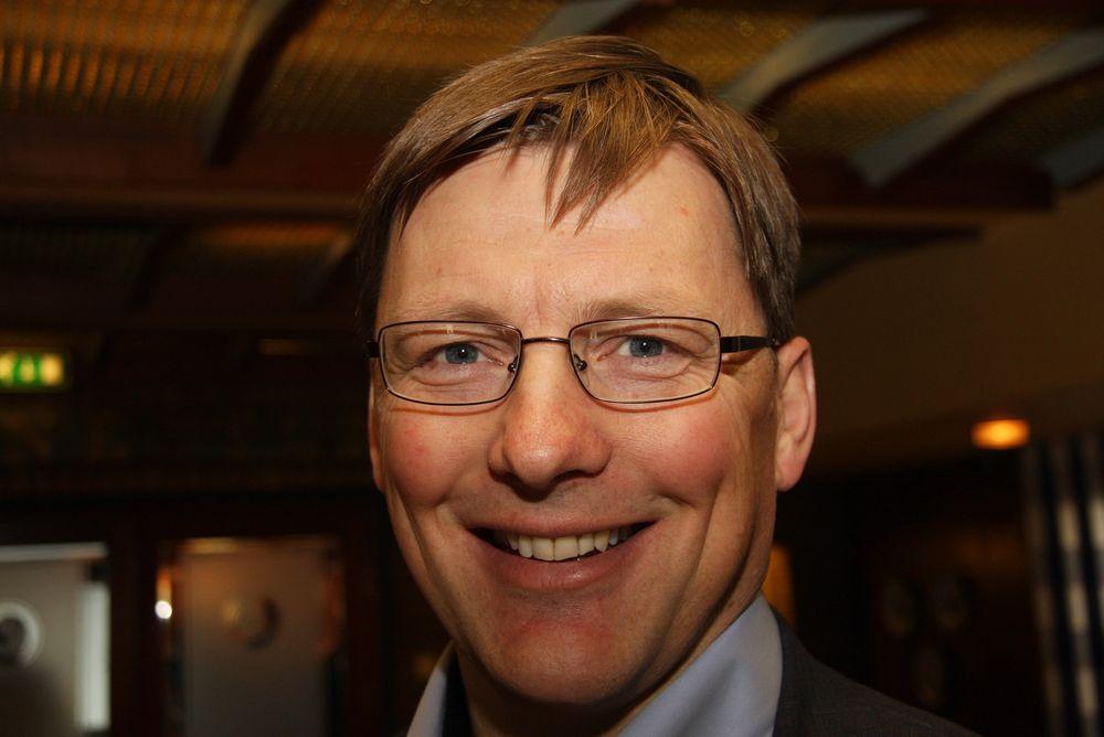 UTBYTTEMASKIN:  AF Gruppen skal være en utbyttemaskin, sa konsernsjef Pål Egil Rønn da rekordresultatet ble presentert 15. februar.