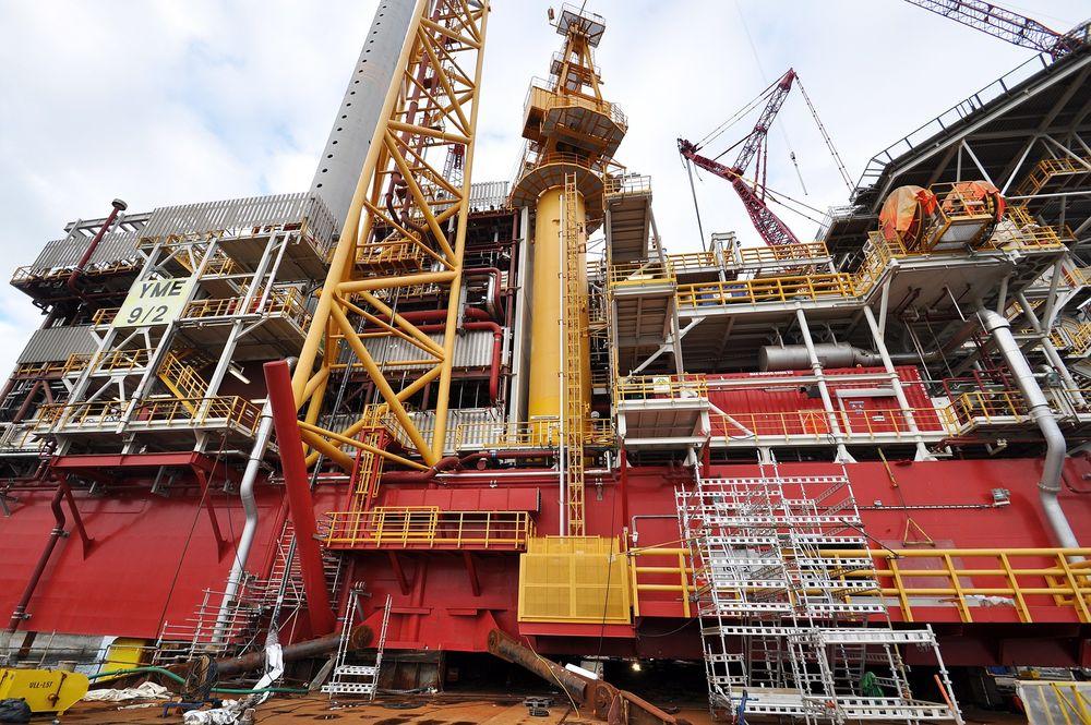 I HARDT VÆR: Ifølge Petroleumstilsynet bryter operatøren Talisman og leverandøren SBM sikkerhetsregelverket på Yme.