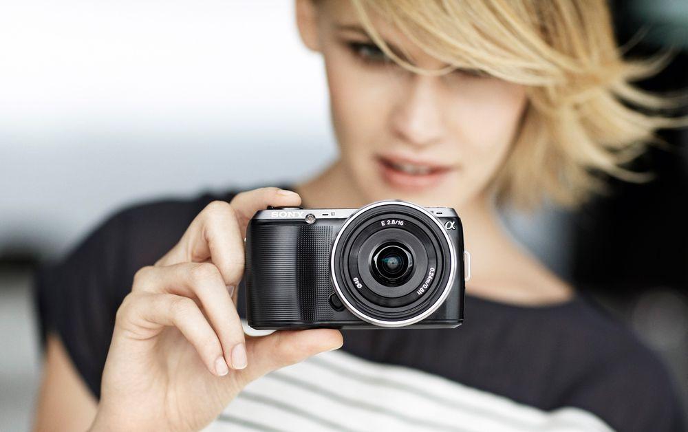 Sony NEX-C3 hybridkamera
