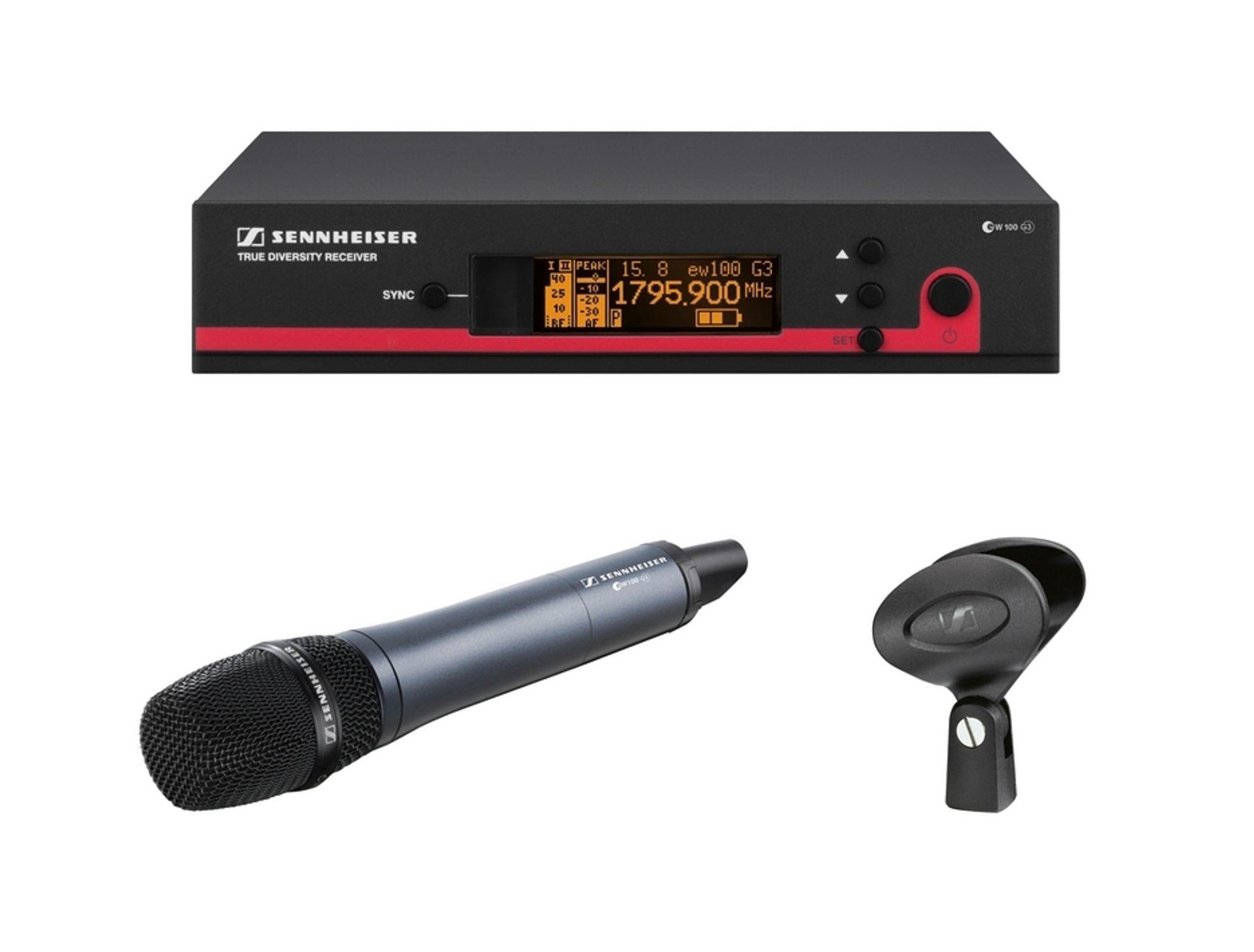 Trådløse mikrofonsystemer