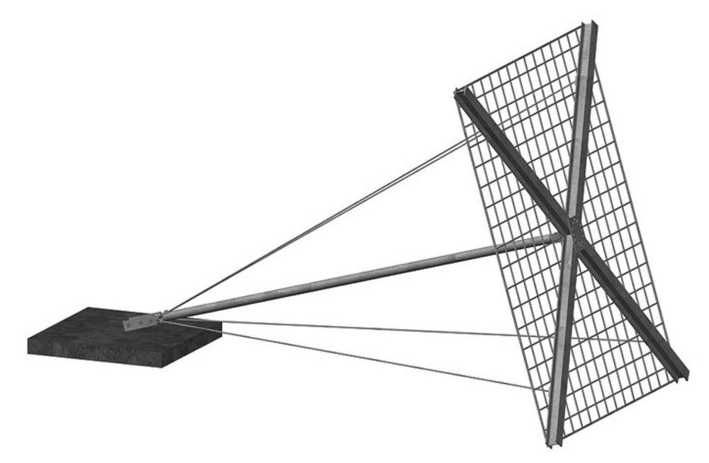 Dette er en paraplyforbygning. Den har aldri tidligere blitt brukt til å sikre en veg mot ras i stor målestokk her i landet.