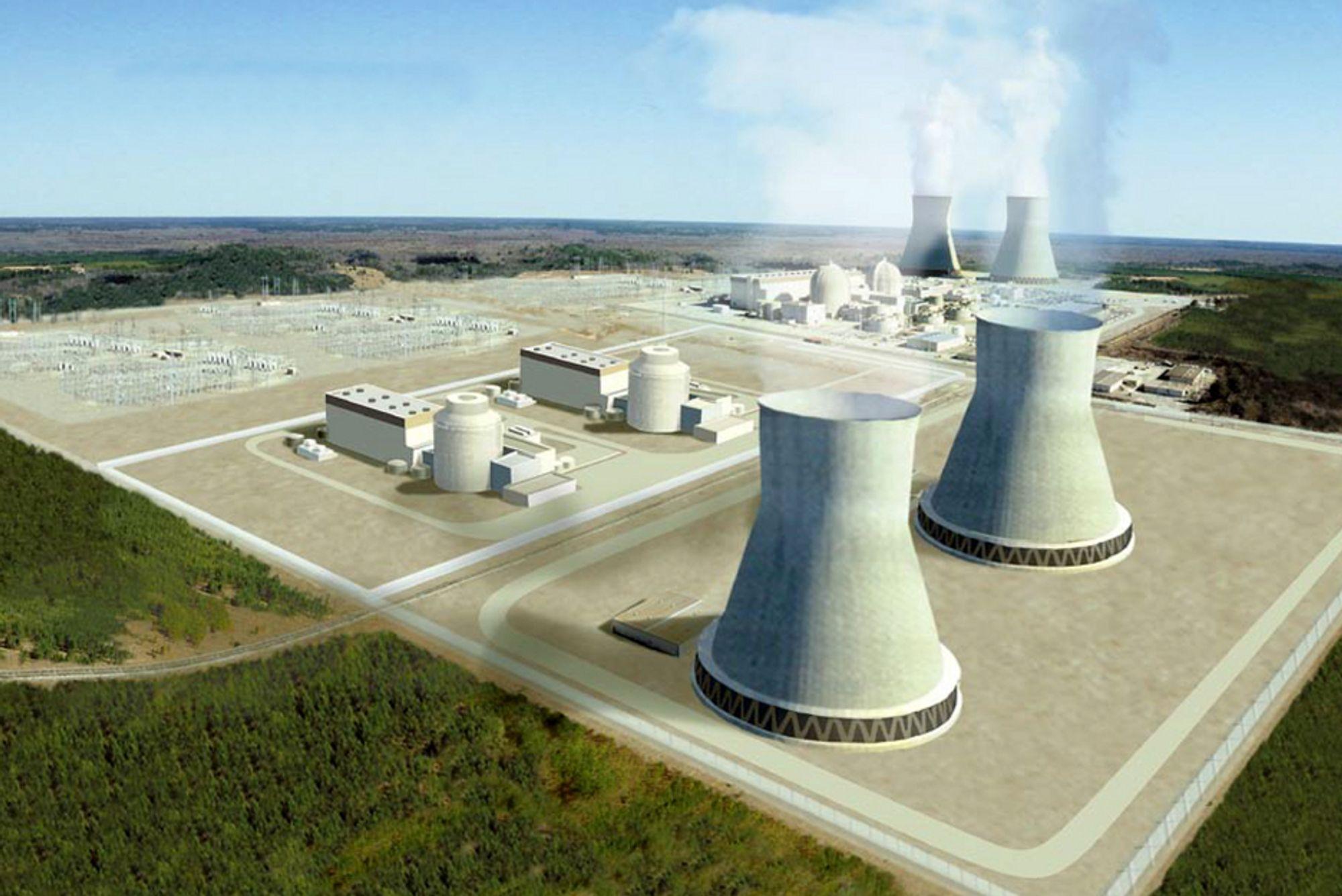 Amerikanerne bygger nytt kjernekraftverk
