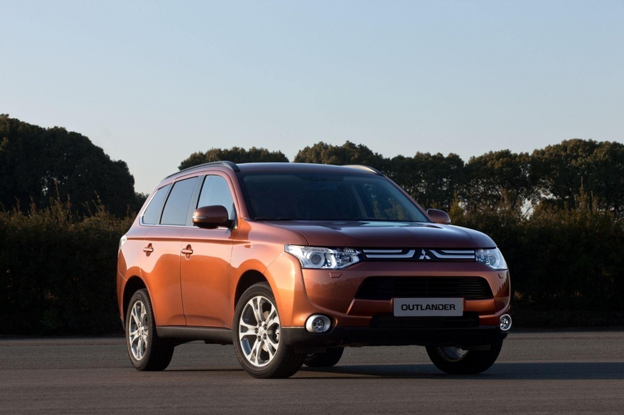 Nye Mitsubishi Outlander kommer til Norge på sensommeren/høsten i år. Som ladbar hybrid kommer den neste år.