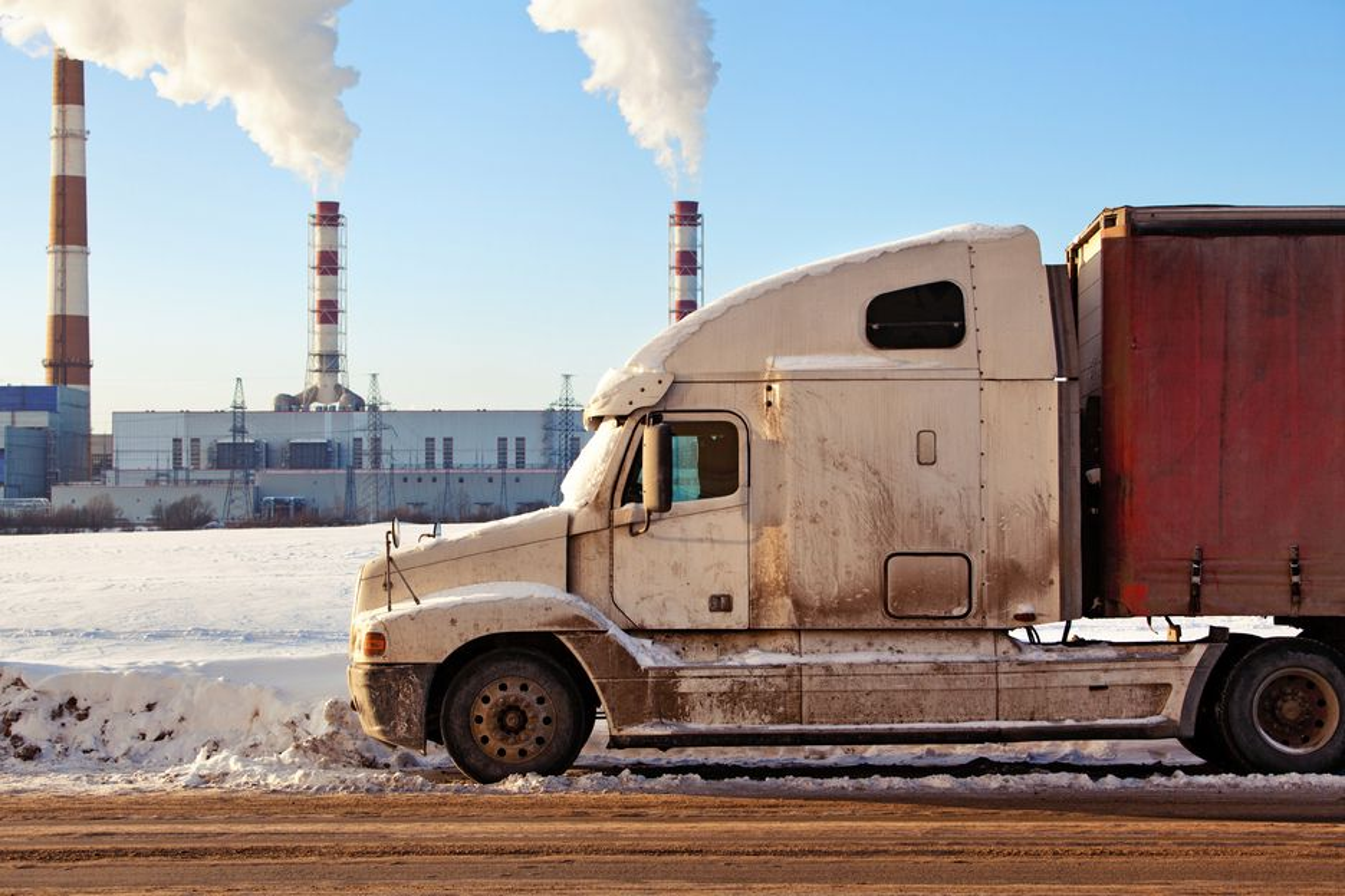 FULL STEAM:Bosch har lastebiler med store dieselmotorer som går på høy belastning i tankene når de nå skal lage damp av ellers bortkastet varmeenergi.
