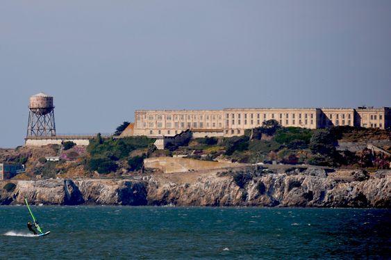 MUSEUM: Øya Alcatraz ligger 2,4 km fra havna i San Francisco og fungerer i dag som museum. Foto: Fredrik Drevon