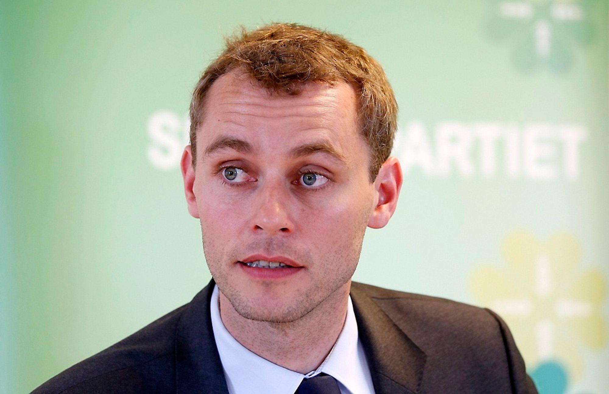 Olje- og energiminister Ola Borten Moe sier Norge skal fortsette med olje- og gassproduksjon i hundrevis av år.