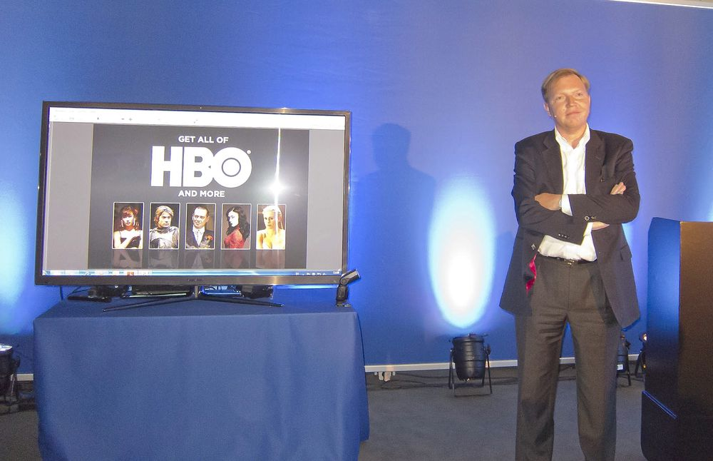 VIL TA NORDEN: Sjefen for HBO i Norden Hervé Payon mener de vil bli en stor innholdaktør når de kommer i midten av oktober.