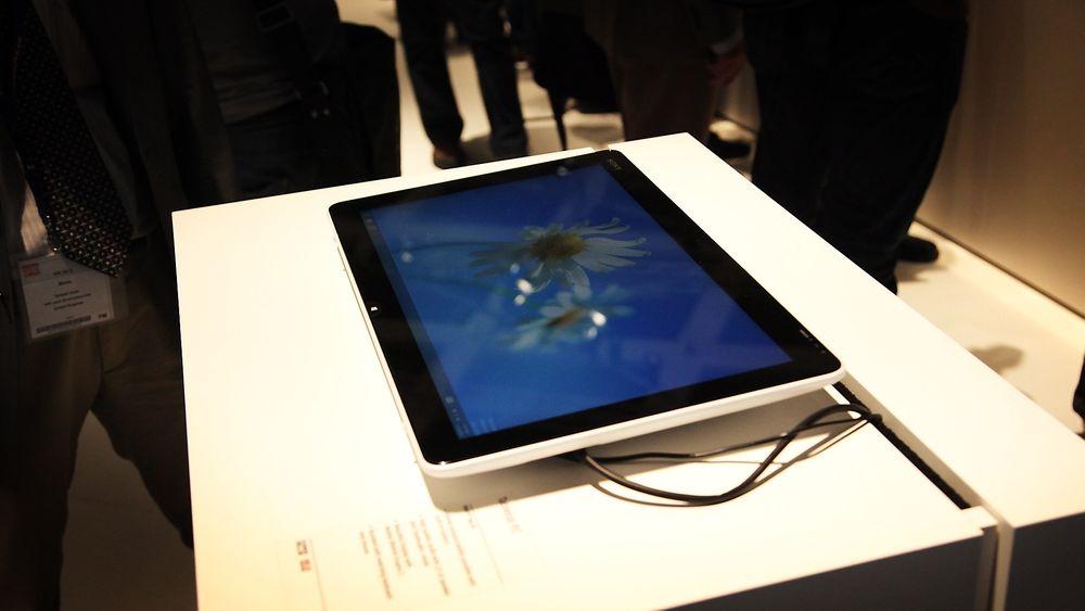 Sony Tap 20 har 20-tommers skjerm, innebygget batteri og kan legges helt flatt.