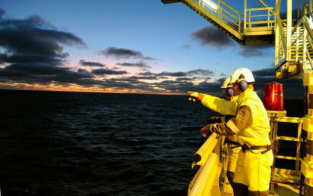 Oljeselskapenes kutt i vedlikehold og modifikasjoner er kortsiktig, mener Nito-tillitsvalg Arnfinn Stensø. Her fra Aker Barents.