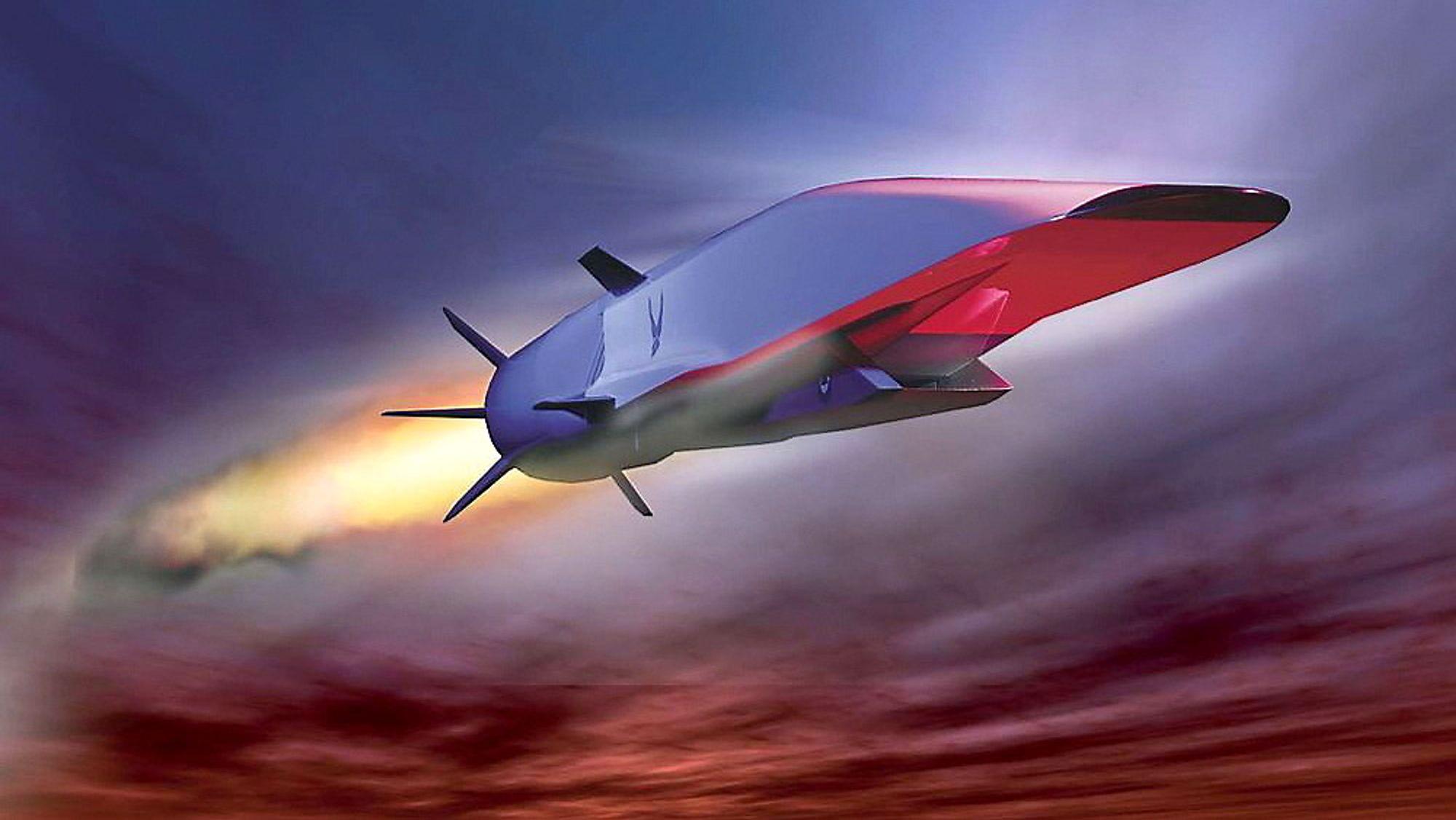 Testen av USAs nye førerløse superfly, som etter planen skal gå i seks ganger lydens hastighet, endte med styrt utenfor California onsdag.