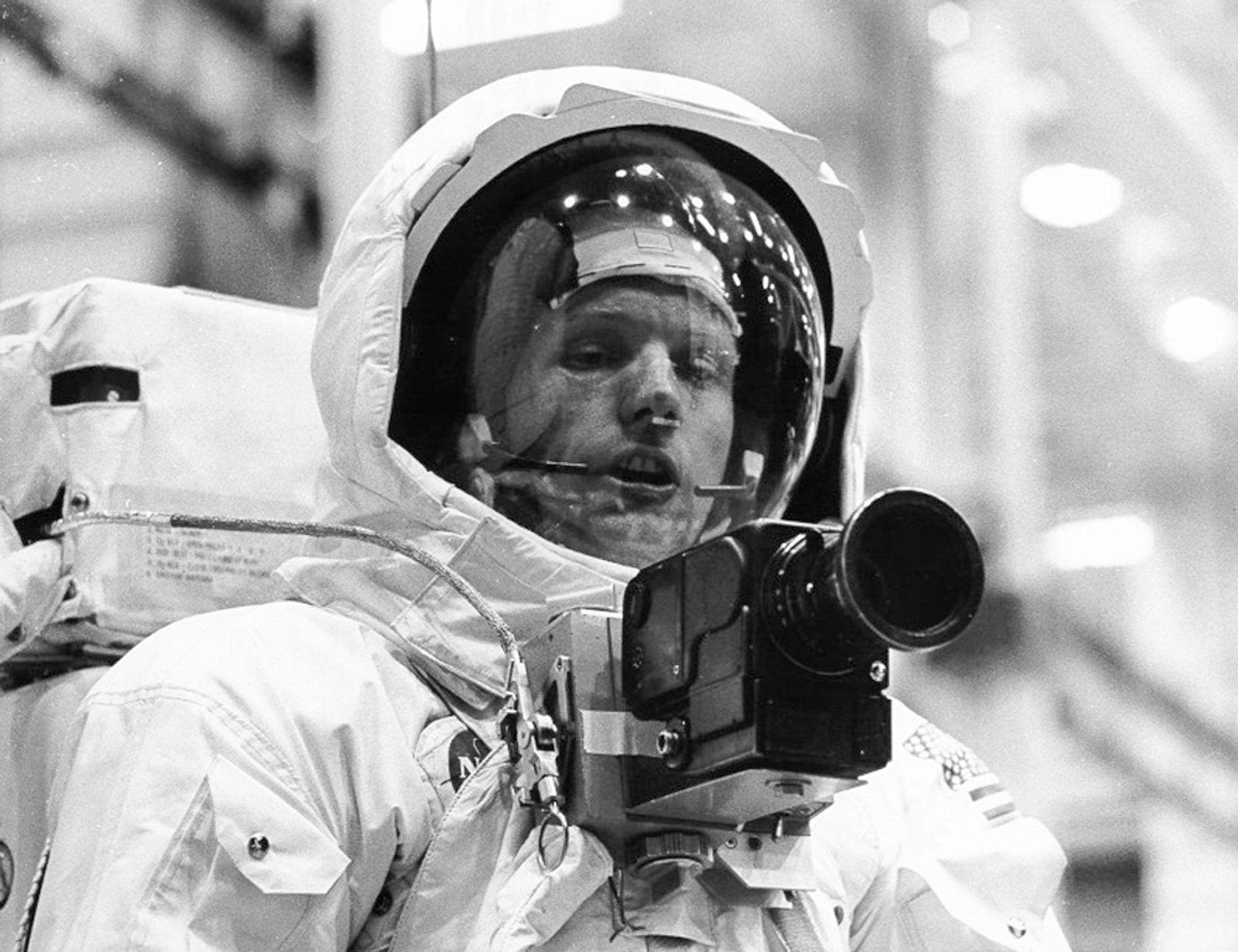Neil Armstrong hylles av president Barack Obama.