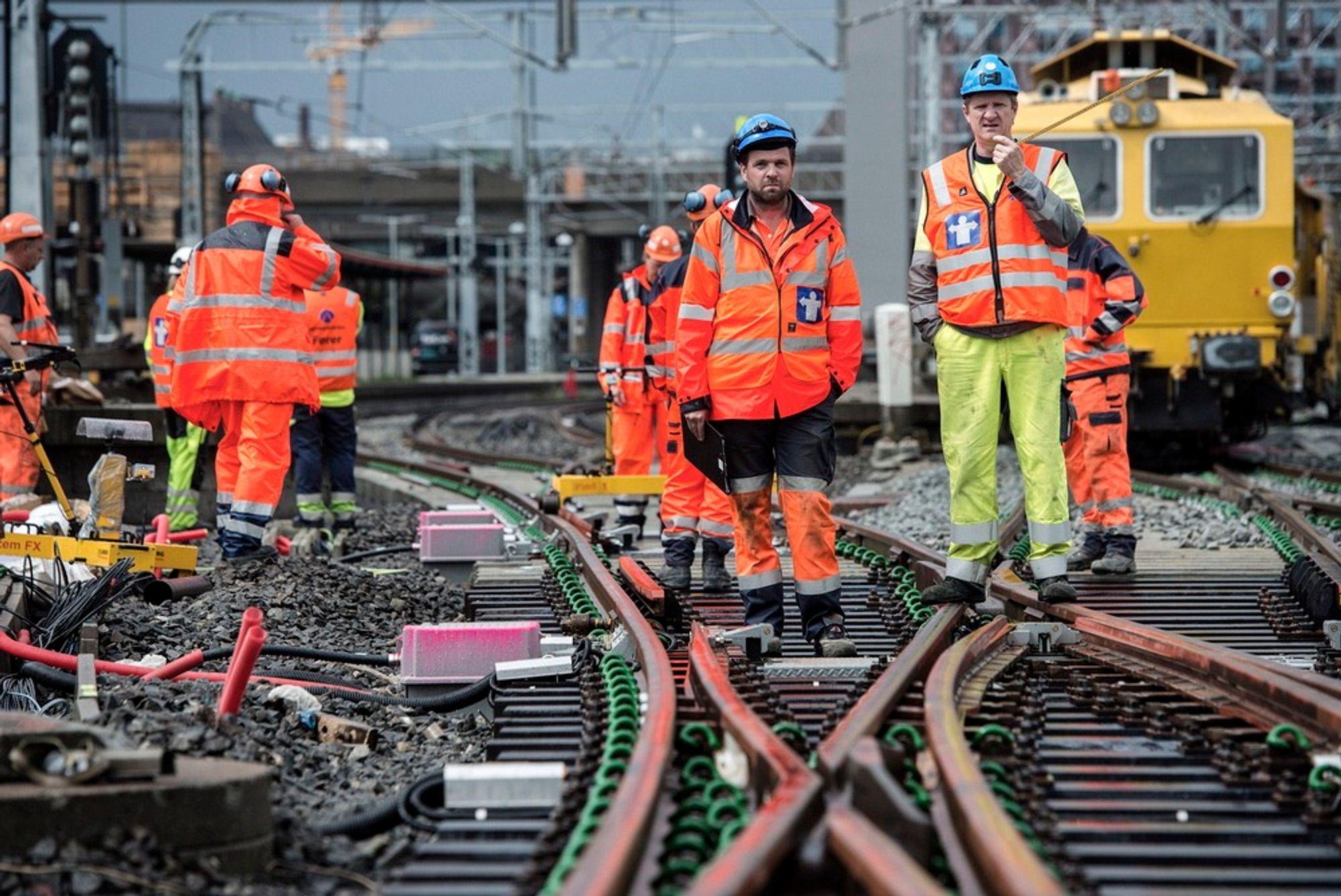 Liten tue kan velte stort lass... Jernbaneverket vil ha nytt system for feilsøking.