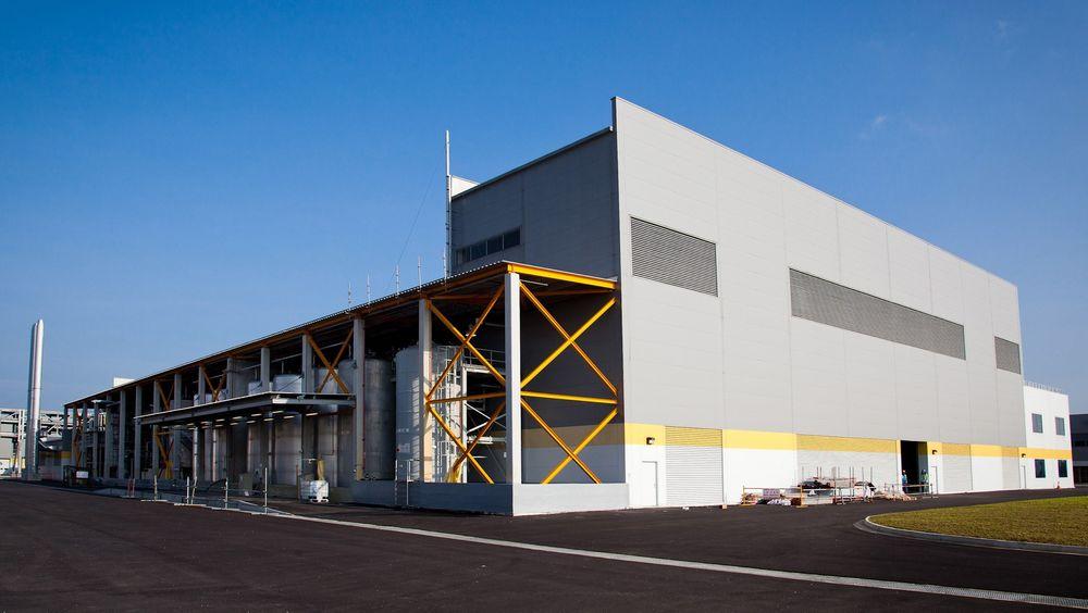 FUNGERER GODT: Metallkrafts fabrikk i Singapore gjenvinner kutteslurry fra Recs fabrikk. FOTO: Metallkraft