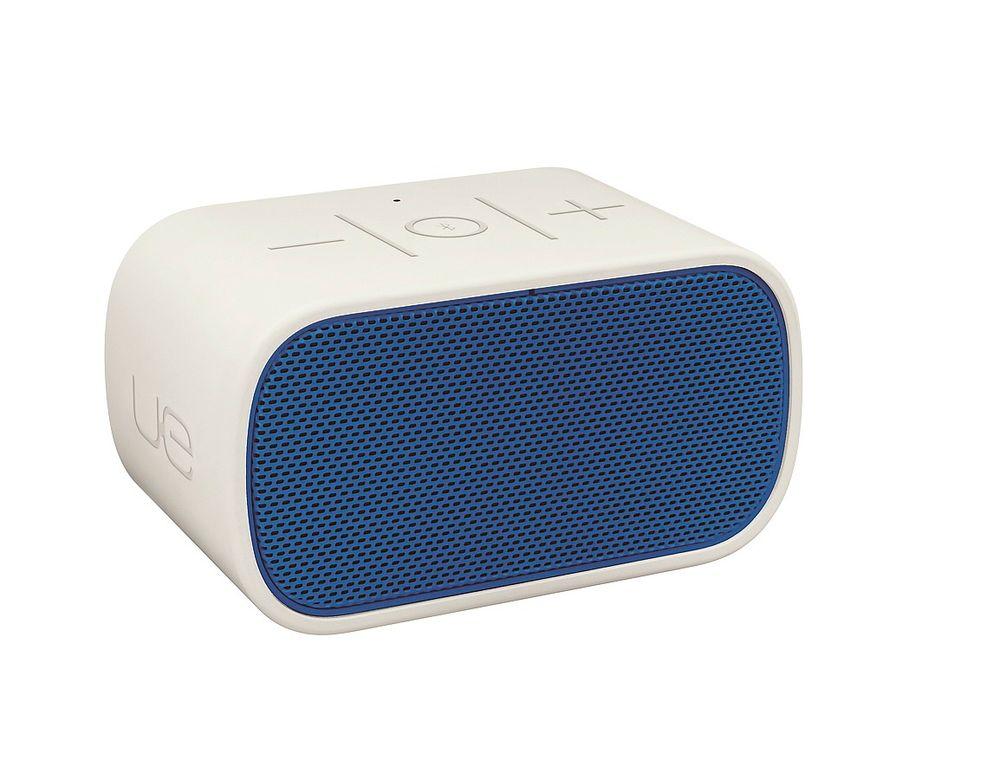 LOGITECH MOBILE BOOMBOX: Er utstyrt med mikrofon så den kan fungere som en høyttalende telefon.