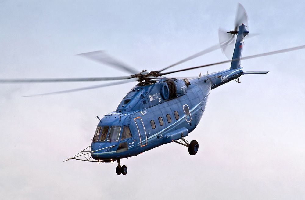 Mi-38 har satt høyderekord for helikoptre i 10-20-tonnsklassen.