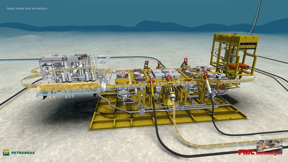 Marlim 3-Phase Separation System er det første i verden som fra havbunnen kan separere tungolje og vann. I tillegg reinjiserer det vannet ned i oljereservoarene.