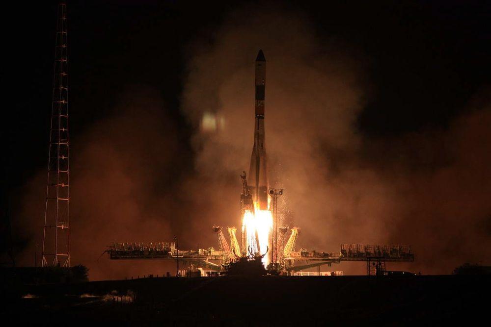 Et ubemannet russisk romfartøy, Progress M-16M, har satt ny rekord for raskeste ferd fra jorda til ISS. FOTO: Roscosmos