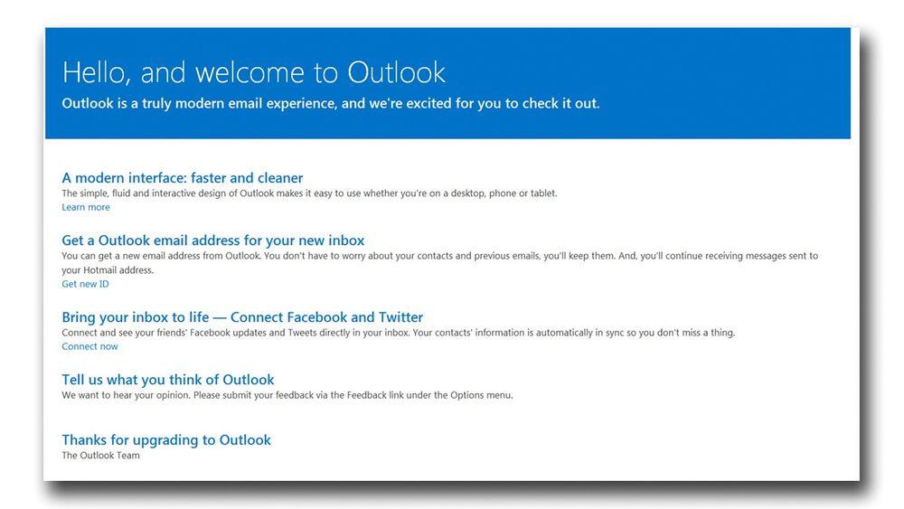 Microsoft vil bytte ut Hotmail med Outlook.com, og helst kapre noen Gmail-brukere på veien, også.