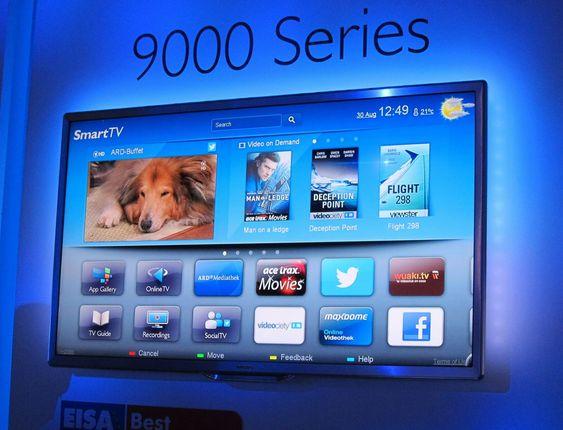 TOPPEN AV TV:  Den nye toppmodellen i 9000-serien har et eksepsjonelt godt bilde.
