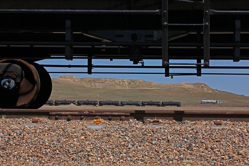 Statoil regner med gevinst på å sende olje med tog fremfor rørledninger.