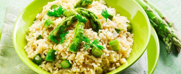 Asparges risotto